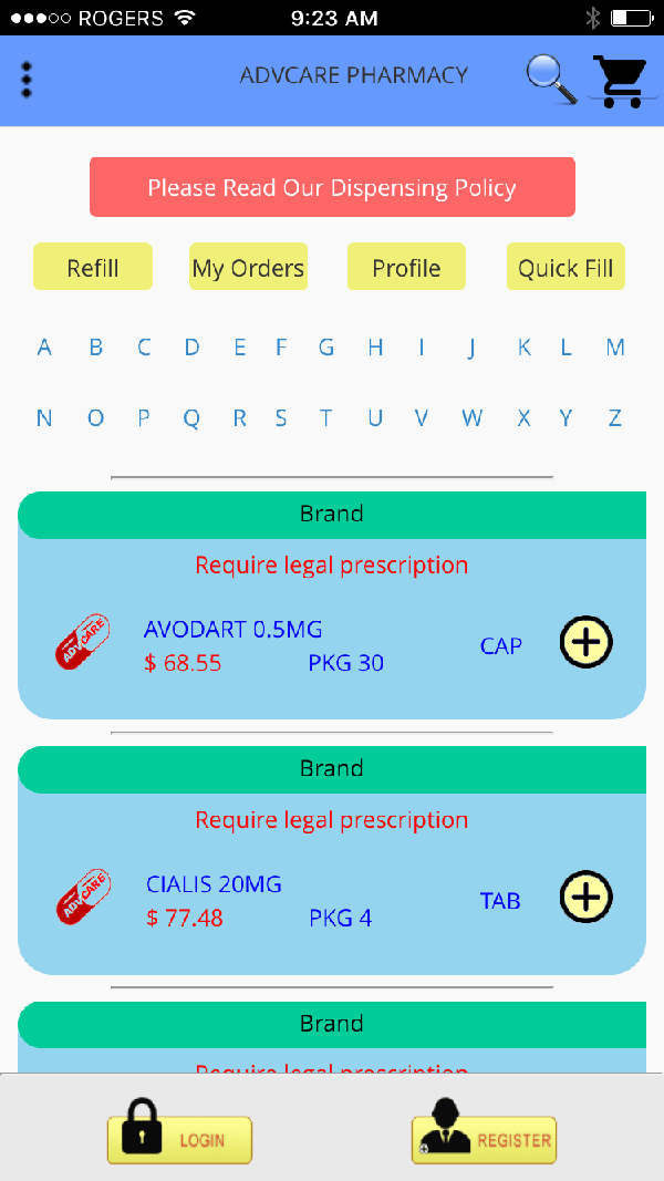 Screenshop_mypharmacyapp-advanced-search
